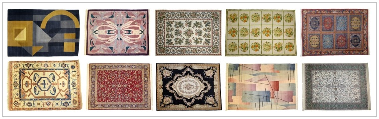 How to choose an area rug.